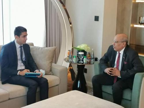 عاجل.. الكثيري يستقبل مسؤول الملف اليمني في السفارة المصرية لدى المملكة العربية السعودية.