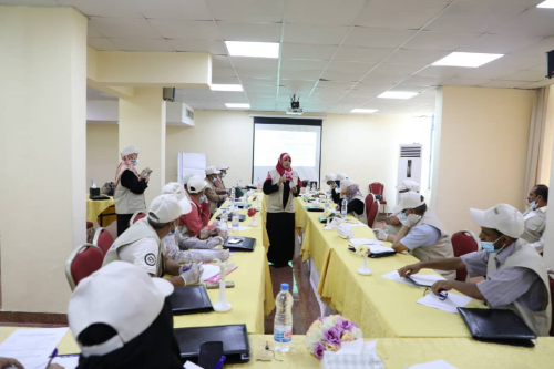 دورة مدربين في مهارات التواصل في التثقيف والحشد المجتمعي