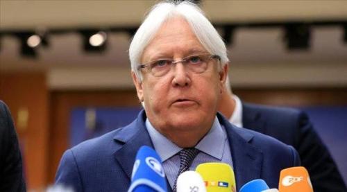 غريفيث إلى الرياض لإقناع الحكومة بالمسودة الأممية للسلام