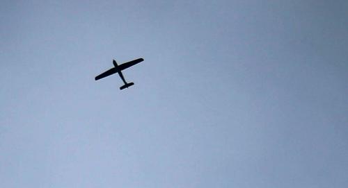 عاجل.. التحالف يدمر طائرة بدون طيار  (مفخخة) أطلقتها المليشيا الحوثية باتجاه السعودية