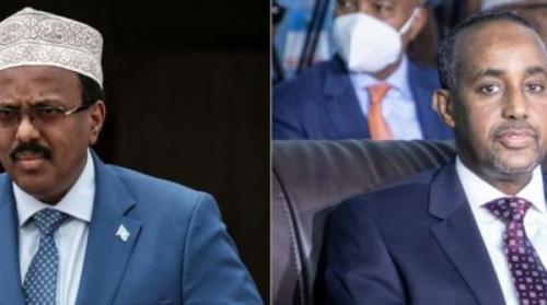 الرئيس الصومالي يسحب الصلاحيات التنفيذية من رئيس الوزراء