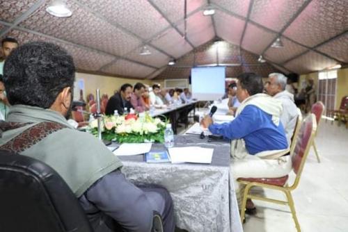 السلطة المحلية بحضرموت تعقد لقاءًا تشاوريًا لتشخيص ومعالجة أوضاع الكهرباء