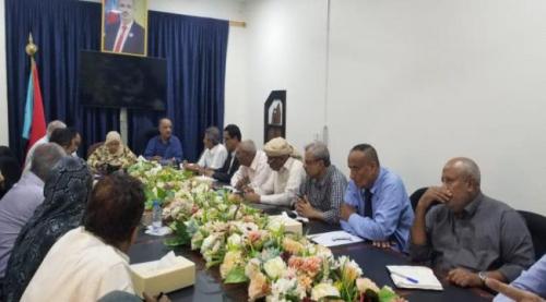 الاقتصادية العليا تعقد اجتماعا استثنائيا لمناقشة آخر المستجدات الاقتصادية على الساحة الجنوبية