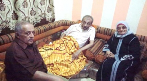 باحشوان وعبد القدوس يطمئنان على الصحفي أبوراس