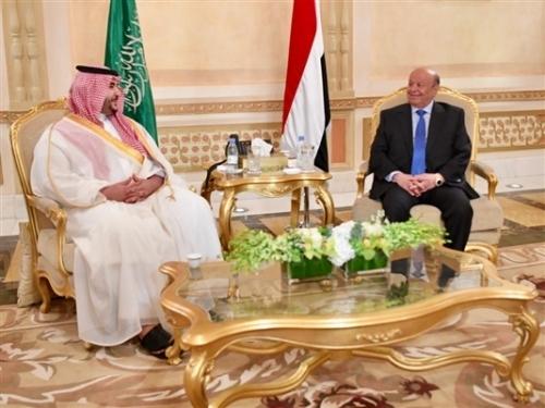 بعد لقاء الرئيس هادي مع بن سلمان حسم نقاط الاختلاف التي كانت عالقة في اتفاق جده