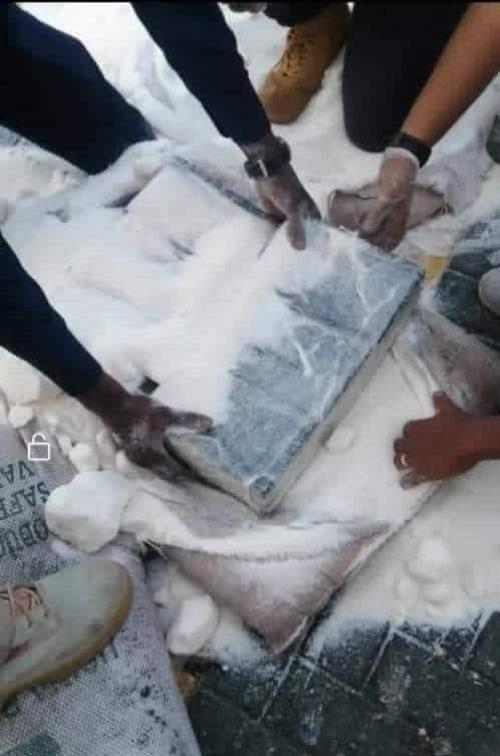 عاجل: بدء عملية اتلاف المخدرات المضبوطة بميناء عدن بحضور المحافظ لملس